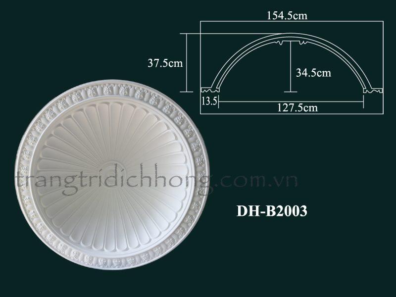 hoa đèn nhựa pu b2003