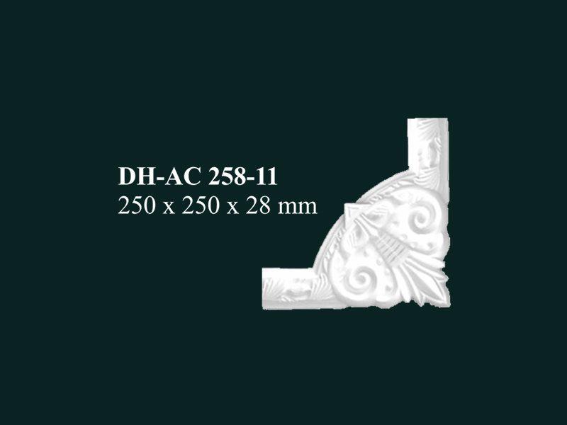 hoa góc nhựa pu dh-ac 258-11