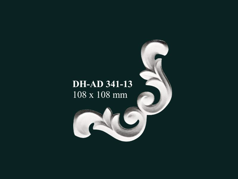 hoa góc nhựa pu dh-ad 341-13