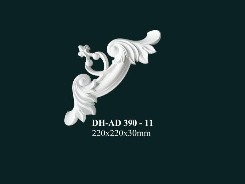 hoa góc nhựa pu dh-ad 390-11