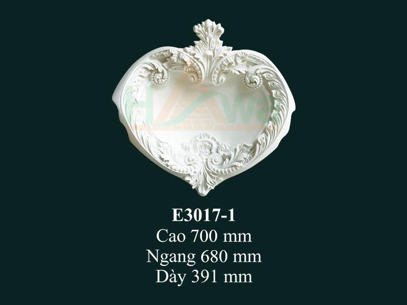 hoa góc nhựa pu e3017