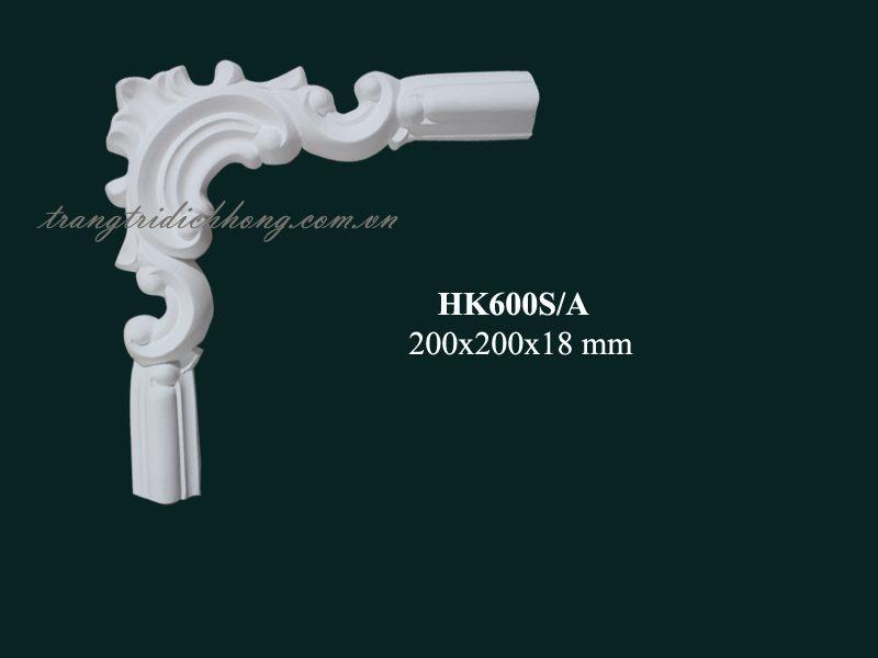 hoa góc nhựa pu hk600s-a