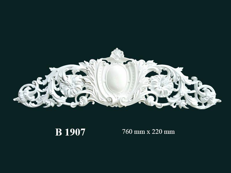phù điêu thạch cao 1907