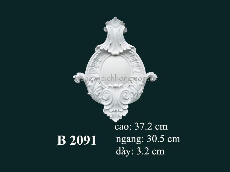 phù điêu thạch cao 2091