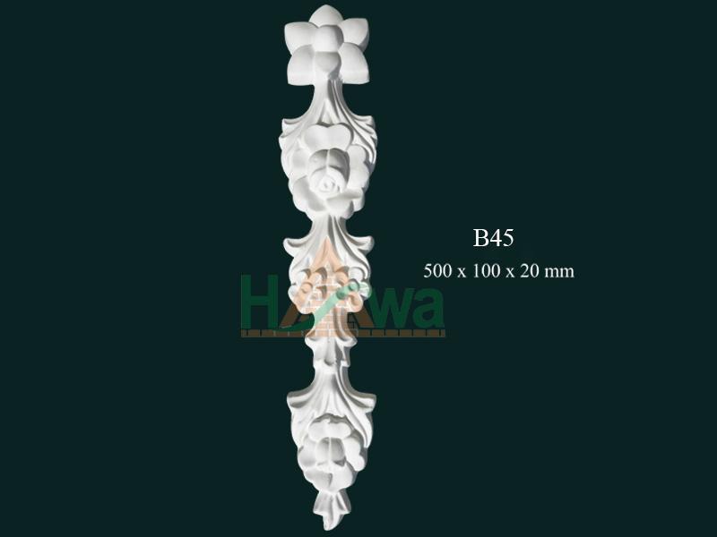 phù điêu thạch cao b45