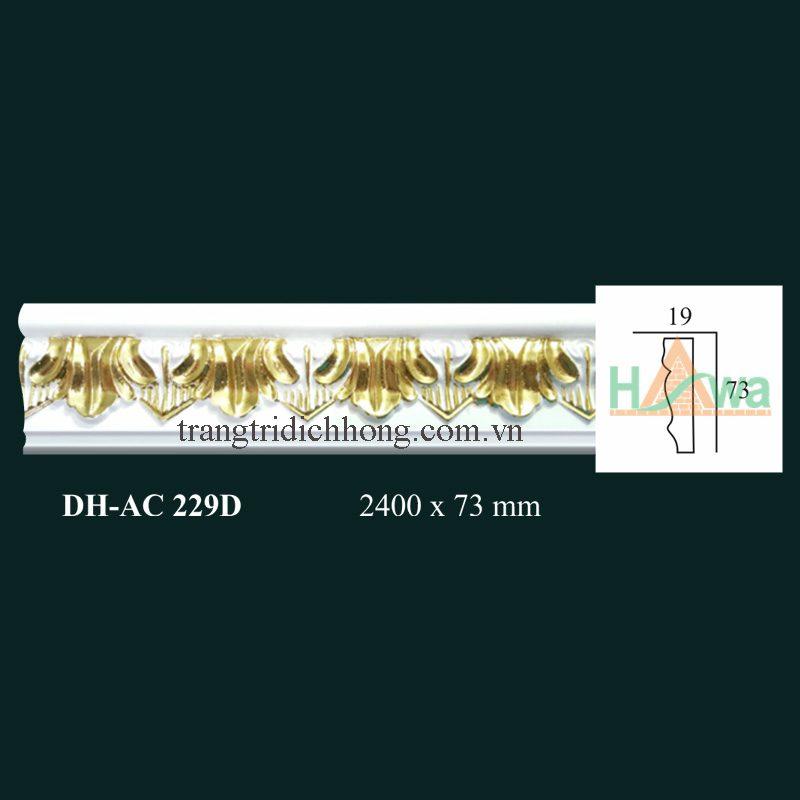 chỉ pu dát vàng ac 229d