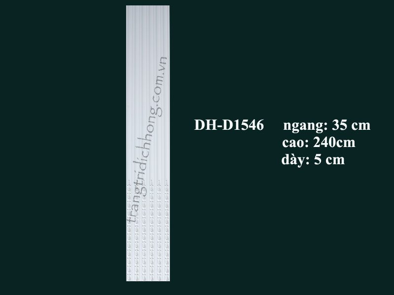 con sơn cột tấm ốp pu d1546