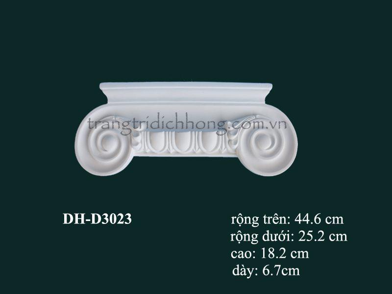 con sơn cột tấm ốp pu dh-d3023