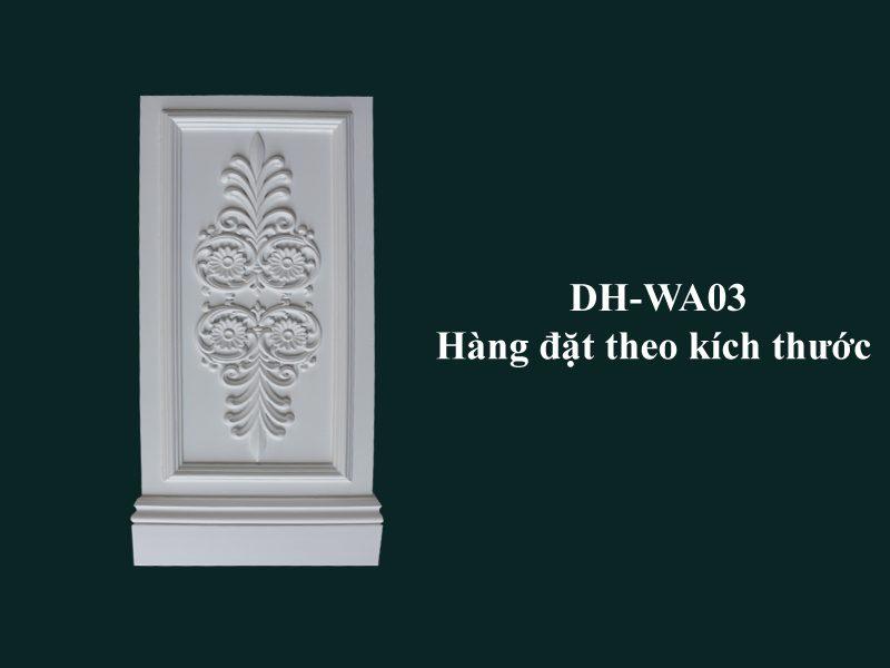 con sơn cột tấm ốp pu dh-wa03