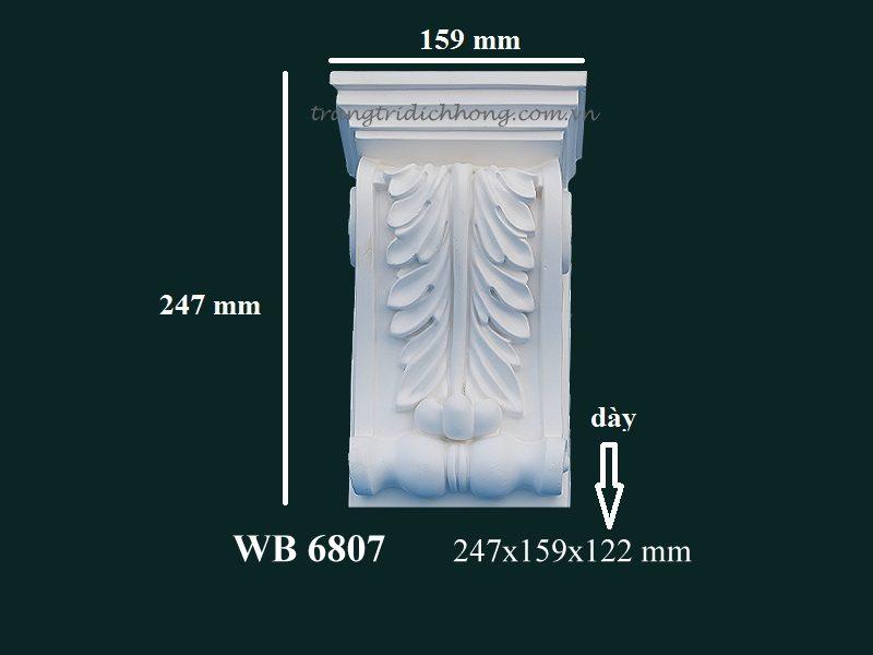 con sơn cột tấm ốp pu wb 6807