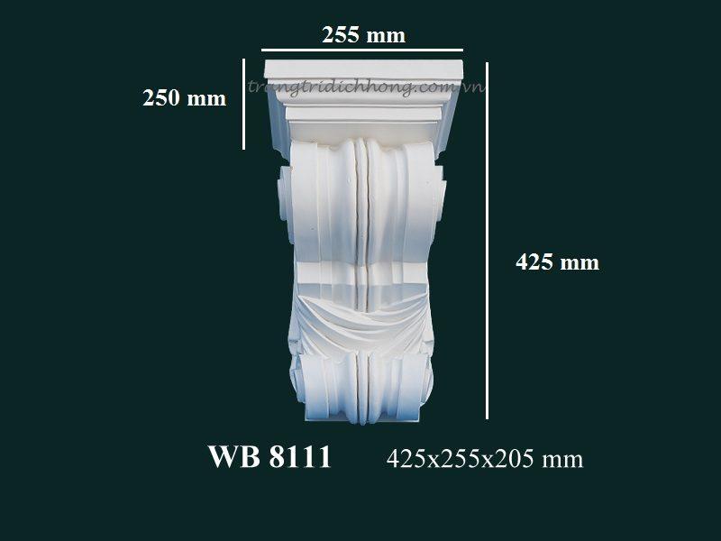 con sơn cột tấm ốp pu wb 8111