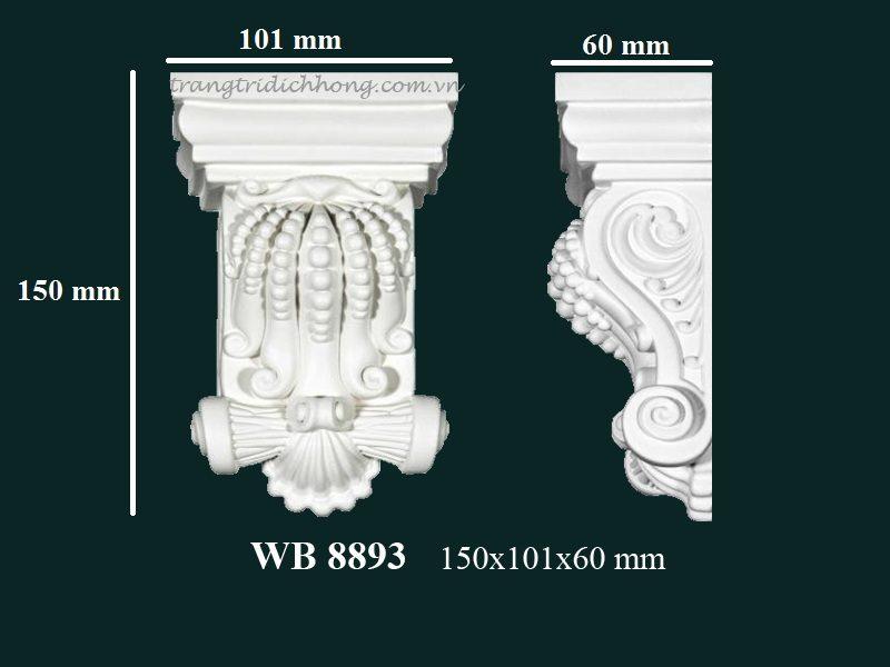 con sơn cột tấm ốp pu wb 8893