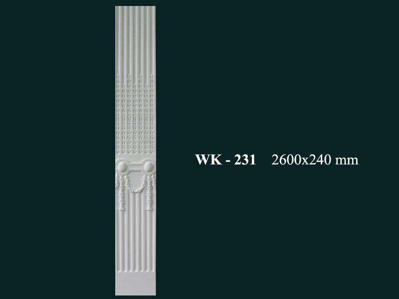 con sơn cột tấm ốp pu wk-231