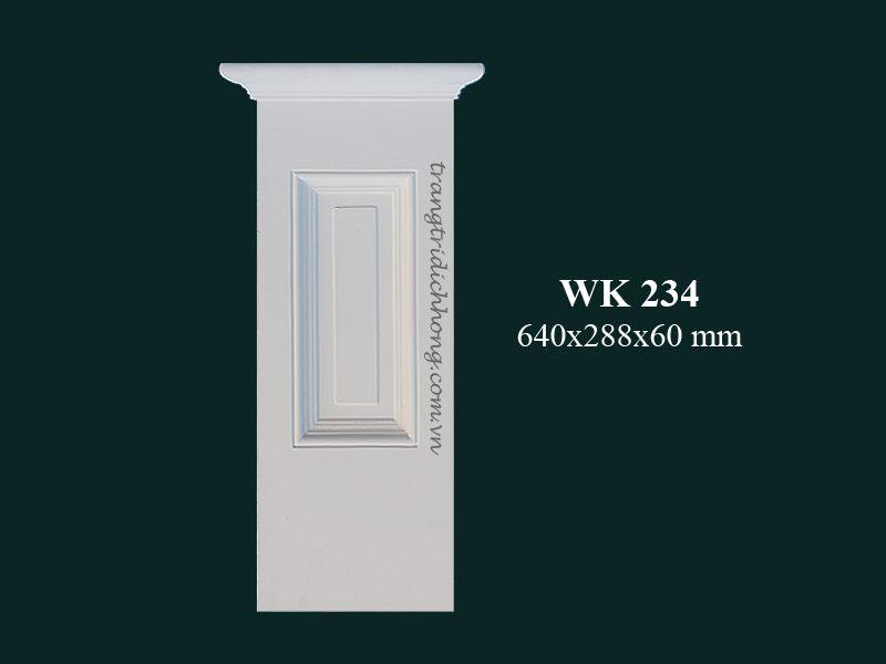 con sơn cột tấm ốp pu wk 234
