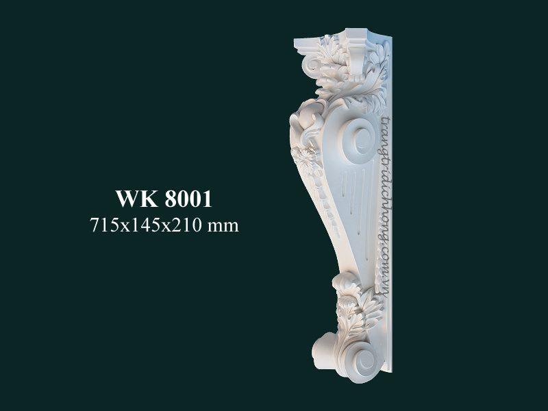 con sơn cột tấm ốp pu wk 8001