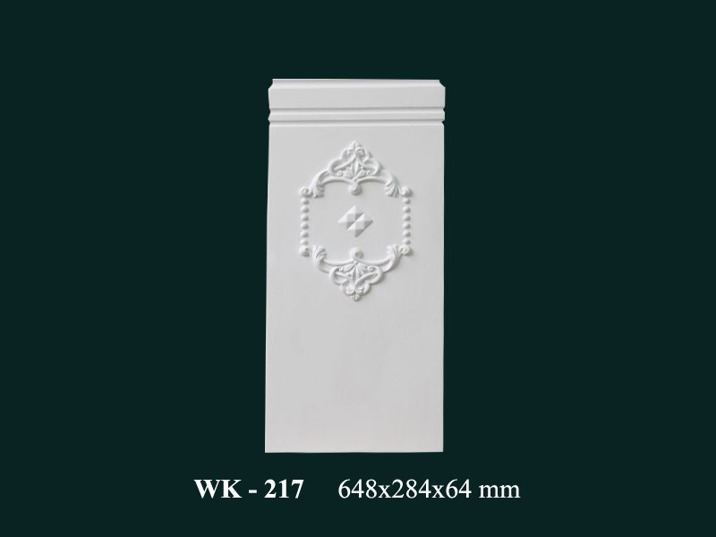 con sơn cột tấm ốp pu wk217
