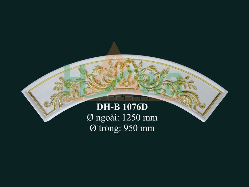 cung-vòm-nhựa-pu-dát-vàng-dh-b1076d