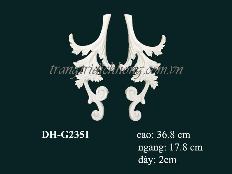 hoa văn nhựa pu dh-g2351