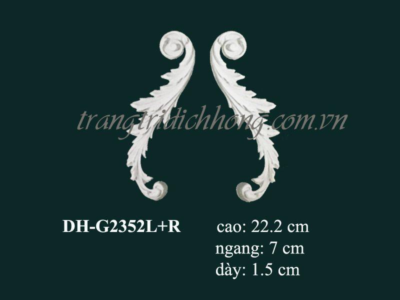 hoa văn nhựa pu dh-g2352