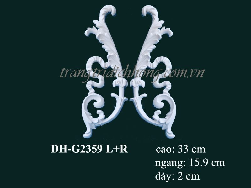 hoa văn nhựa pu dh-g2359