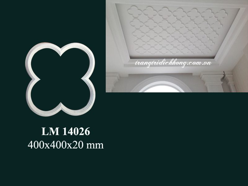 hoa văn nhựa pu lm 14026