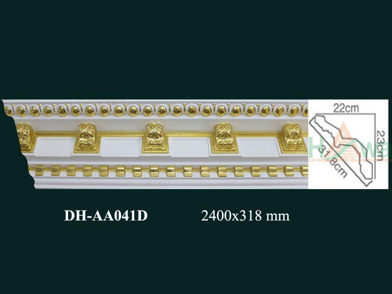 phào nhựa pu dát vàng dh-aa041d