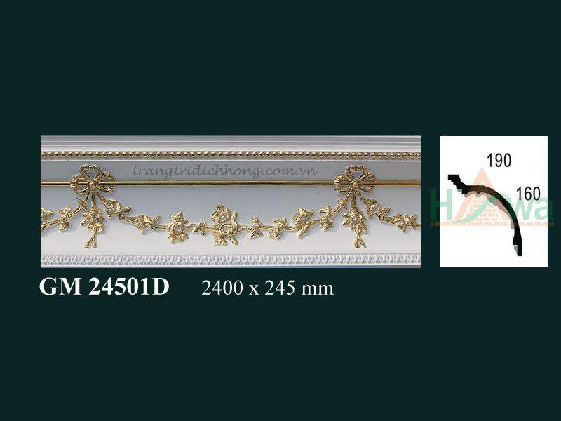 phào-nhựa-pu-dát-vàng-dh-gm-24501d
