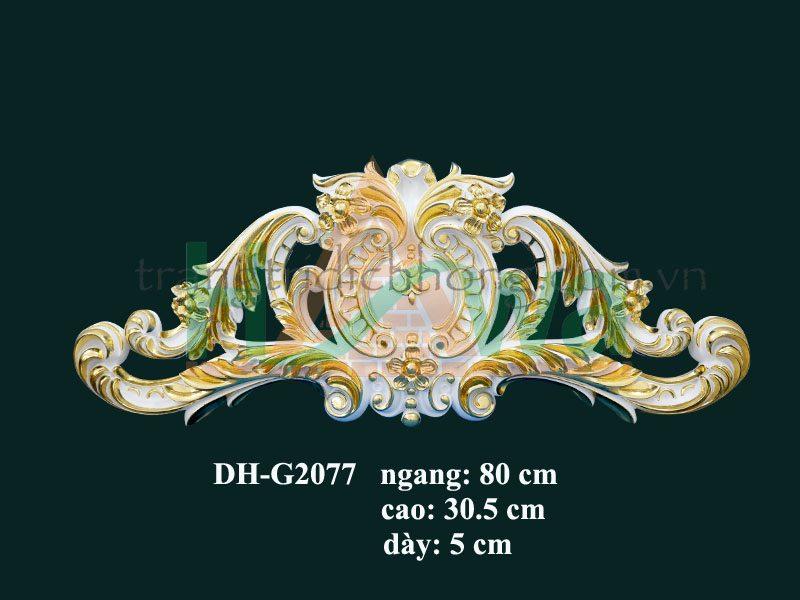 phù điêu nhựa pu dát vàng dh-g2077d