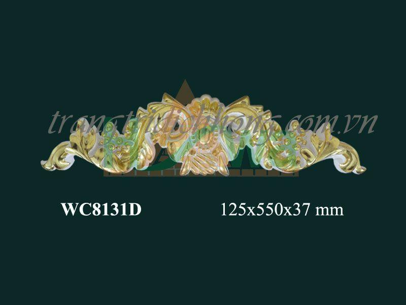 phù điêu nhựa pu dát vàng dh-wc8131d