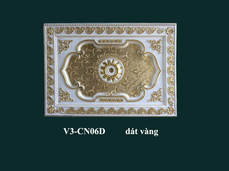 tấm trần nghệ thuật dát vàng v3cn06d