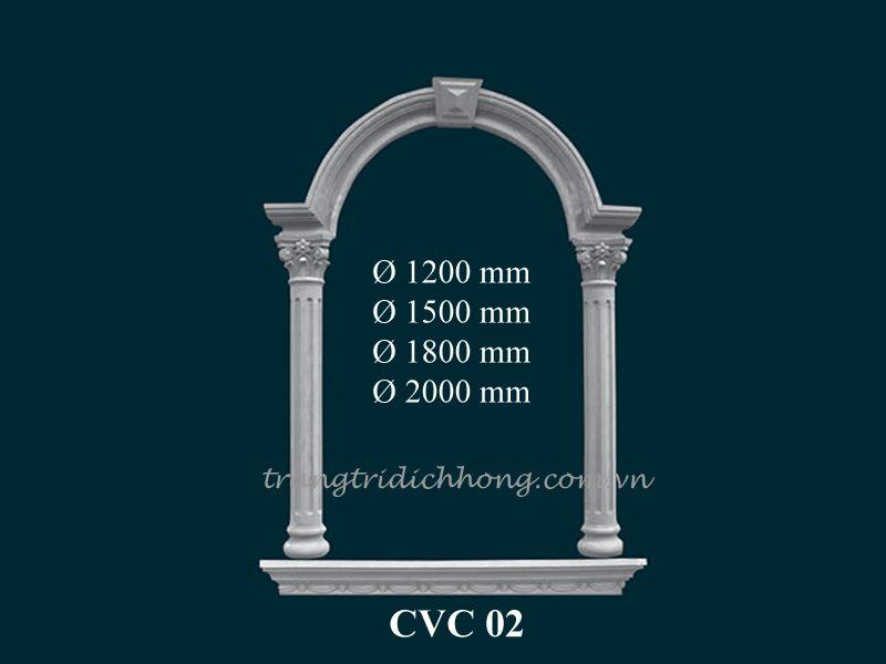 cột ngoại thất cvc 02