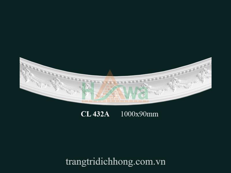 Phào chỉ cung thạch cao CL 432A