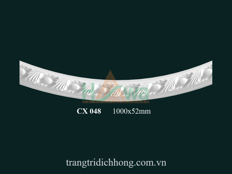 Phào chỉ cung thạch cao CX 048