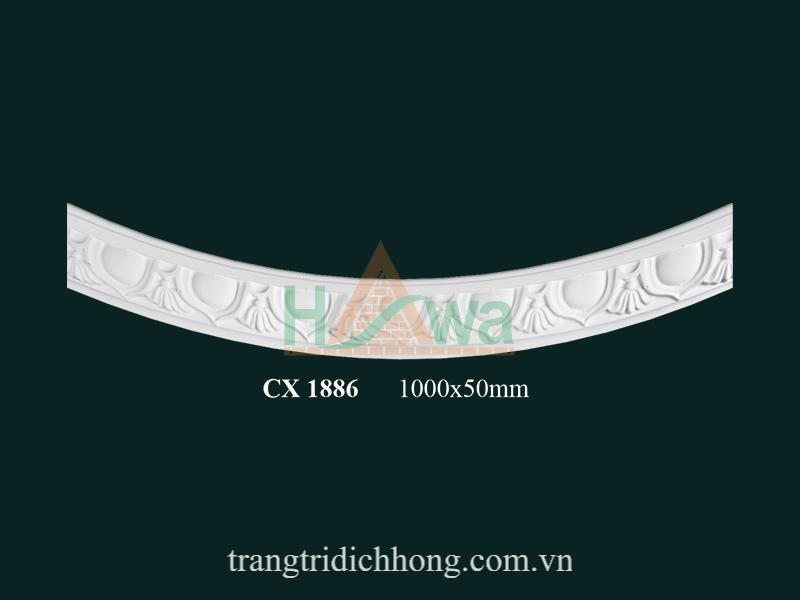 Phào chỉ cung thạch cao CX 1886