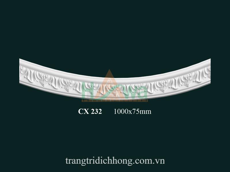 Phào chỉ cung thạch cao CX 232