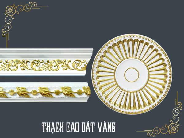 Thạch Cao Dát Vàng